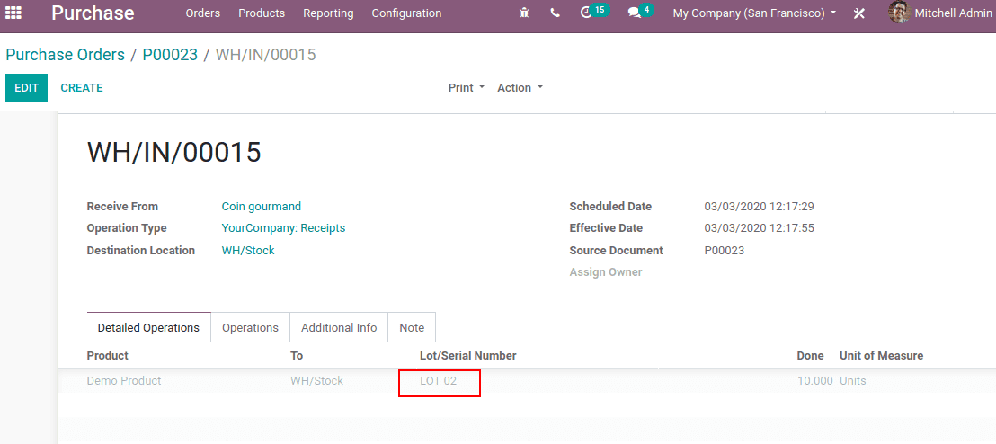 Removal And Putaway strategies in Odoo 13