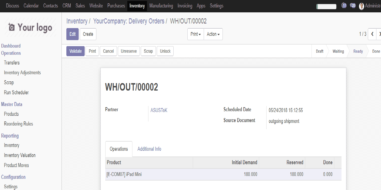 Shipping-management-in-odoo-8-cybrosys