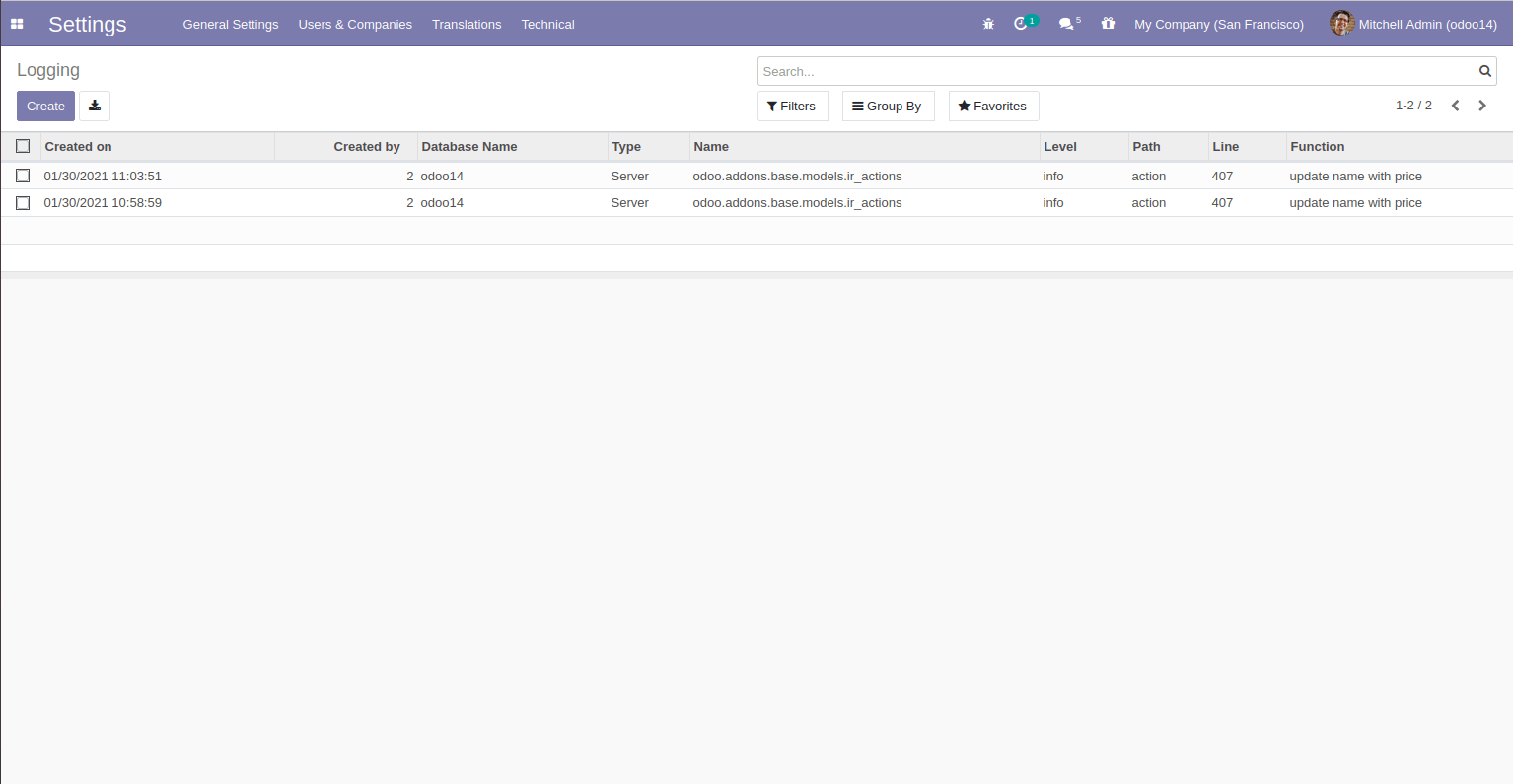 add-log-messages-from-ui-in-odoo-cybrosys