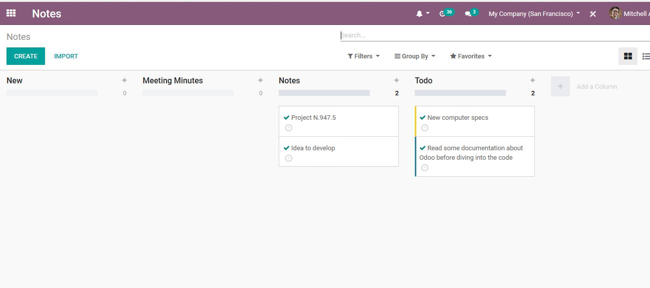 benefits-odoo-13-notes-module-cybrosys