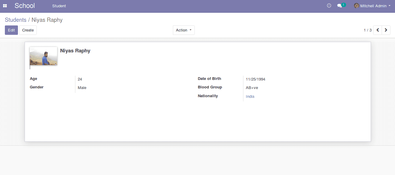 building module in odoo v12