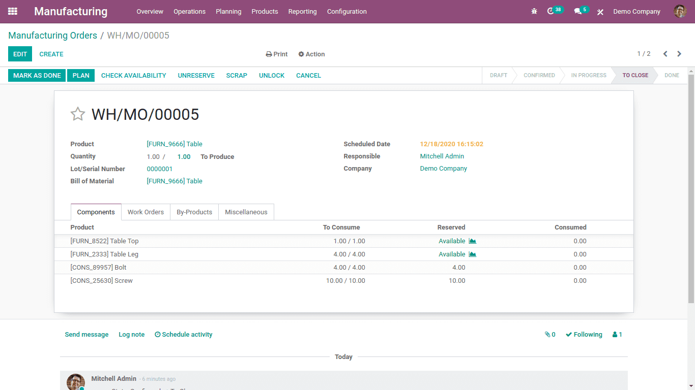 cost-computation-of-finished-goods-in-odoo-14