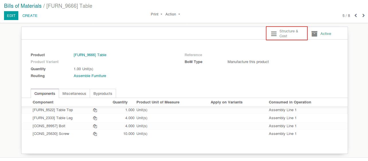 chi phí tính toán của hàng hóa thành phẩm-trong-odoo-v12-cybrosys-1