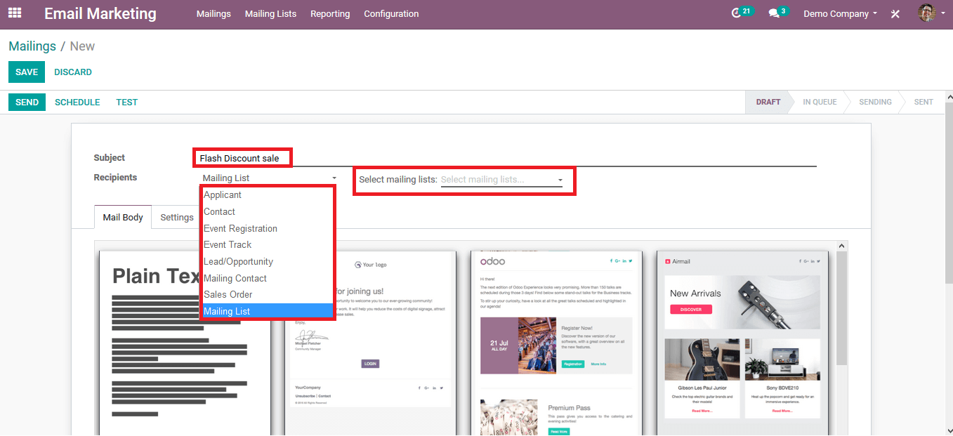 email-marketing-campaigns-odoo-13-cybrosys