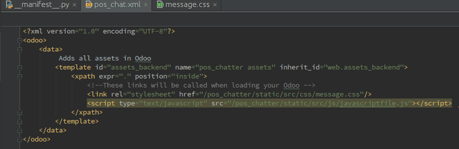 how-to-add-css-javascript-in-odoo-7