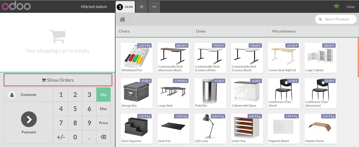 how-to-add-custom-screens-in-odoo-pos-cybrosys