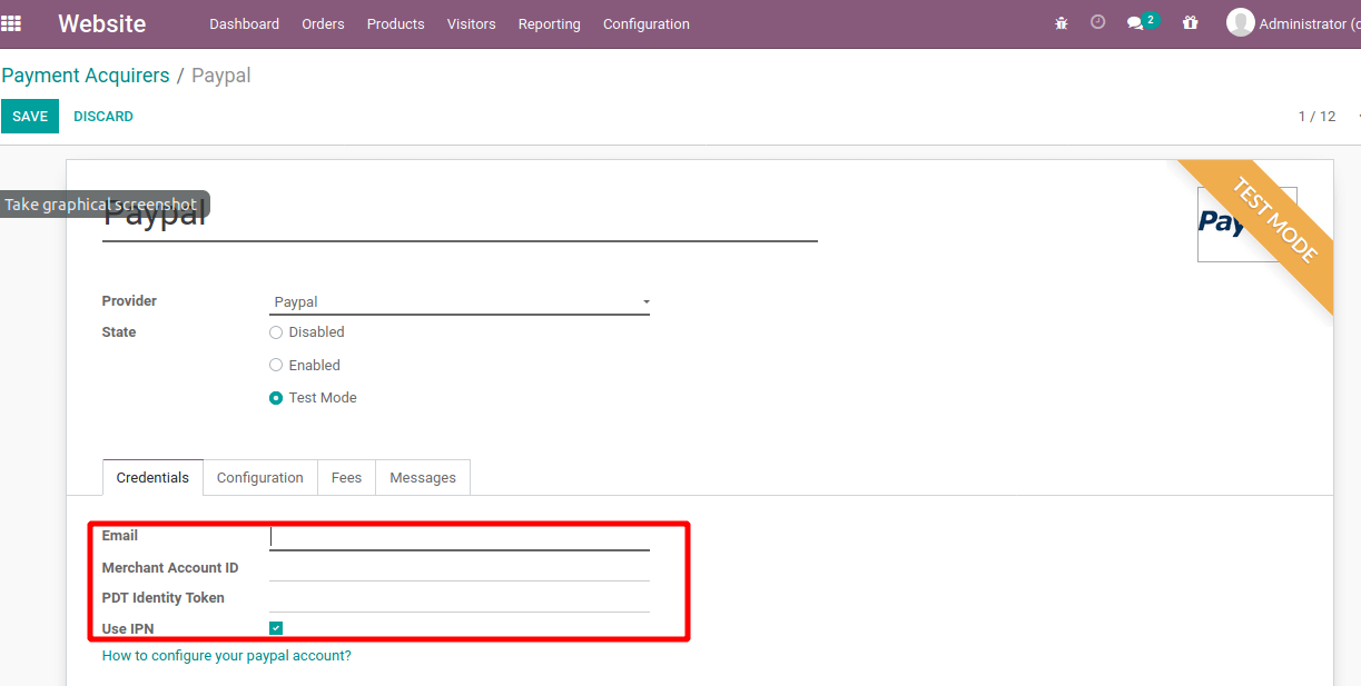 how-to-configure-paypal-odoo-13