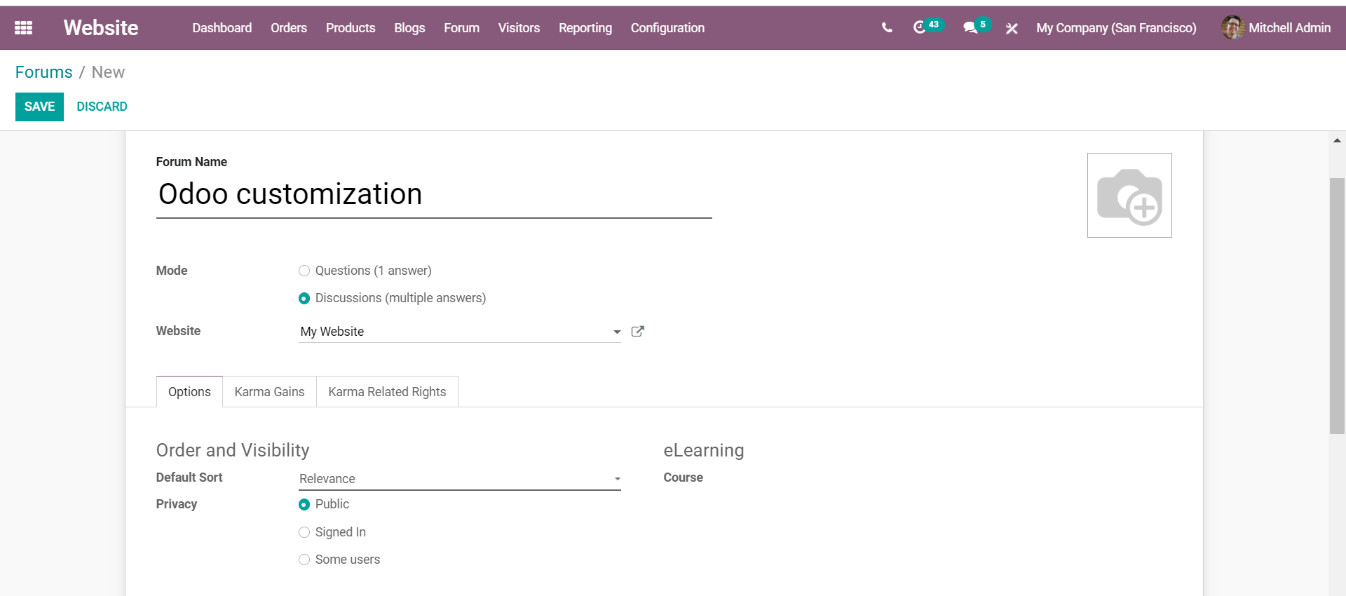 how-to-create-forums-to-enhance-learning-with-odoo