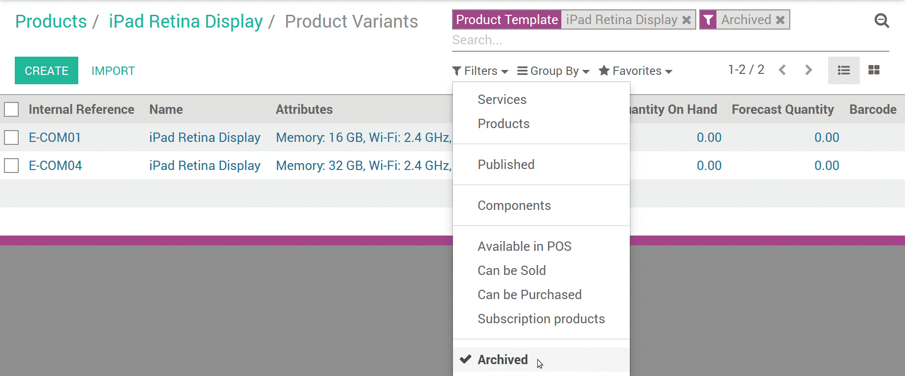 how-to-manage-product-variants-in-odoo-7-cybrosys