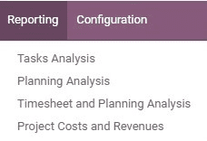 how to manage project in odoo 13 cybrosys
