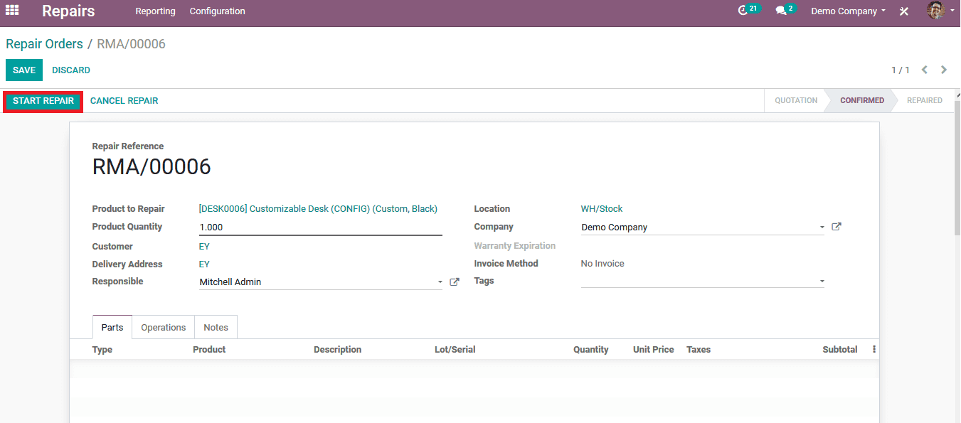 how-to-repair-products-in-odoo-13-cybrosys