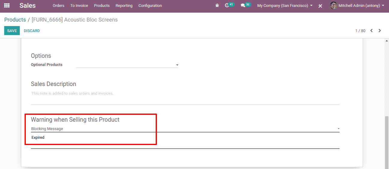 how-to-set-blocking-informative warning-odoo-13