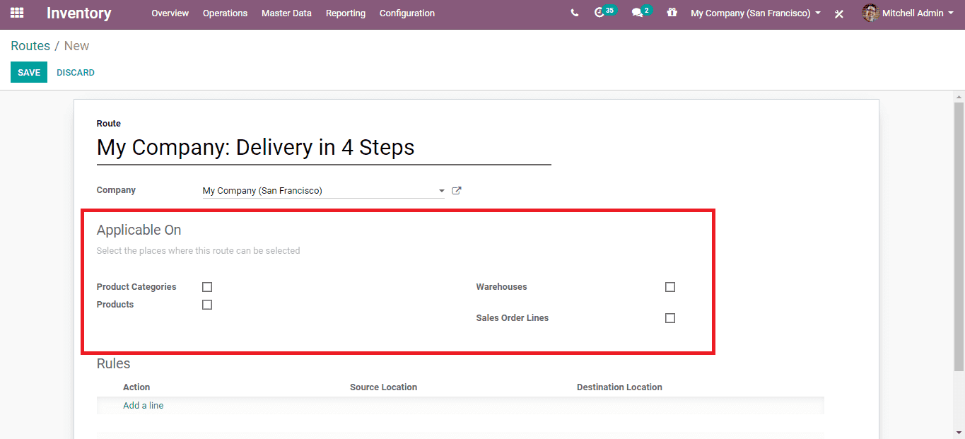 manage rules in odoo 13 sales cybrosys