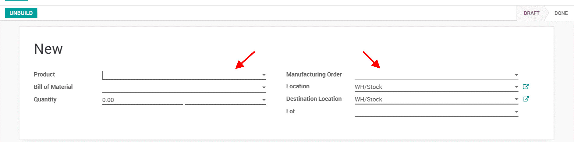 manage semi finished products in odoo manufacturing-cybrosys