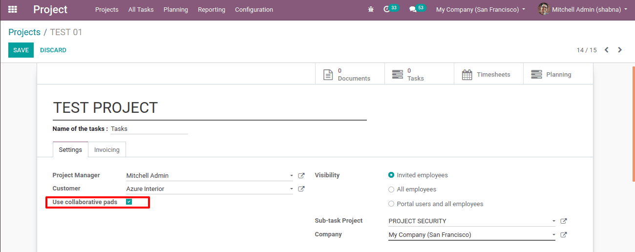 odoo-13-project-collaborative-pads