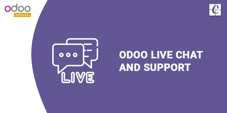 Odoo live chat and support