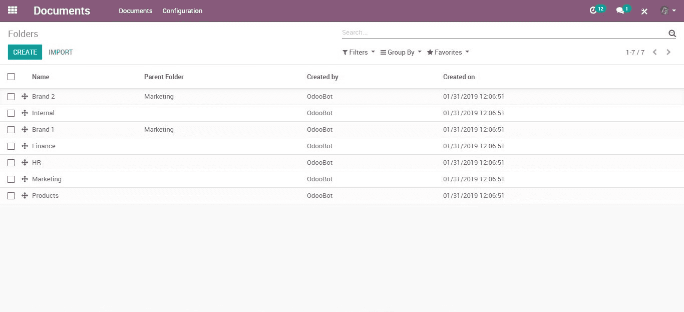 odoo v12 document management system-cybrosys