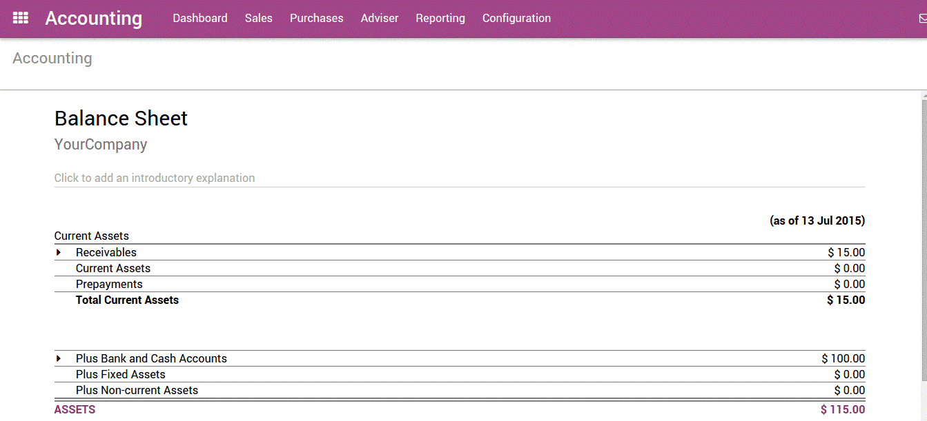 odoo 12 accounting