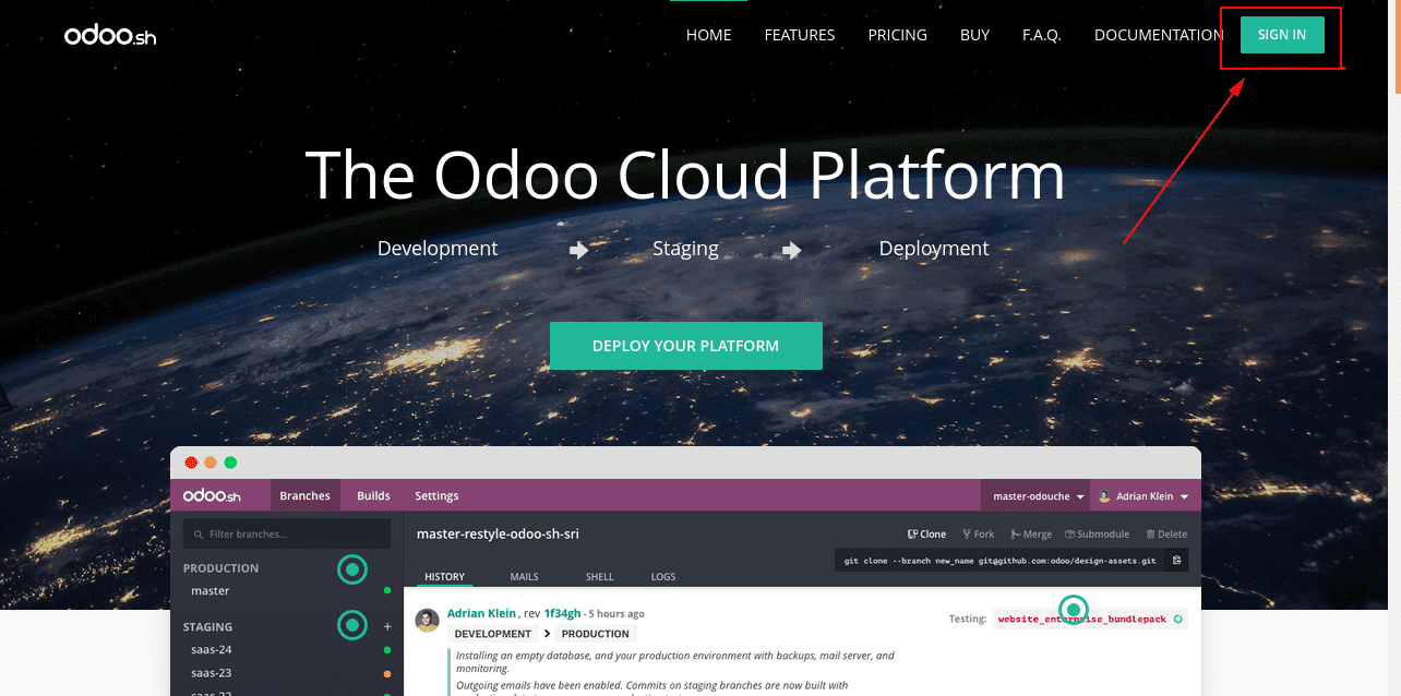 odoosh-the-odoo-cloud-platform