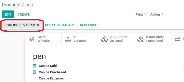 product-variant-odoo-13-cybrosys