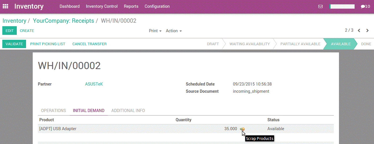 scrap-management-in-odoo-cybrosys