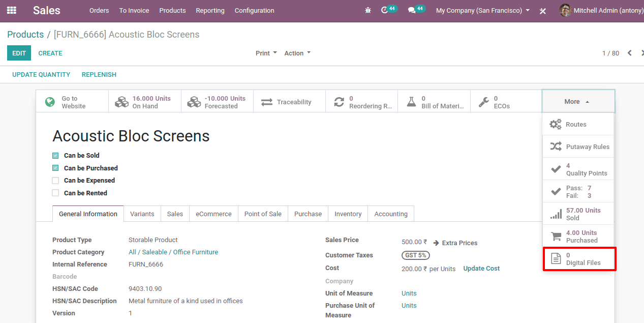 sell digital product in odoo 13 cybrosys
