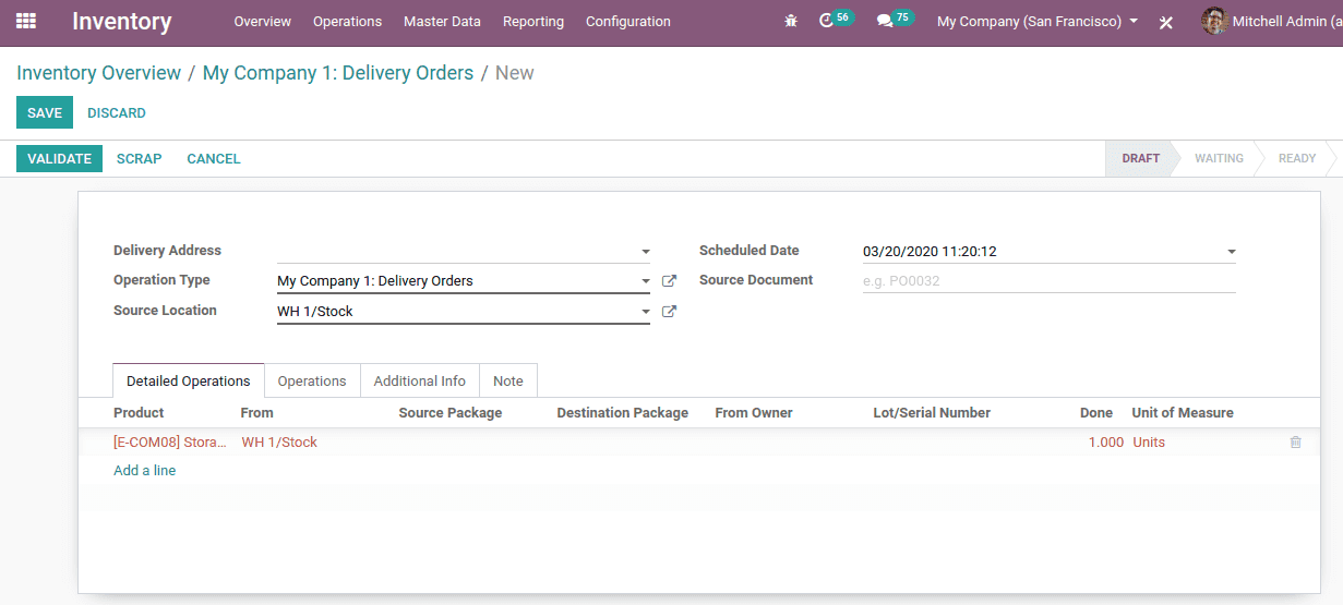 shipping management odoo 13 cybrosys