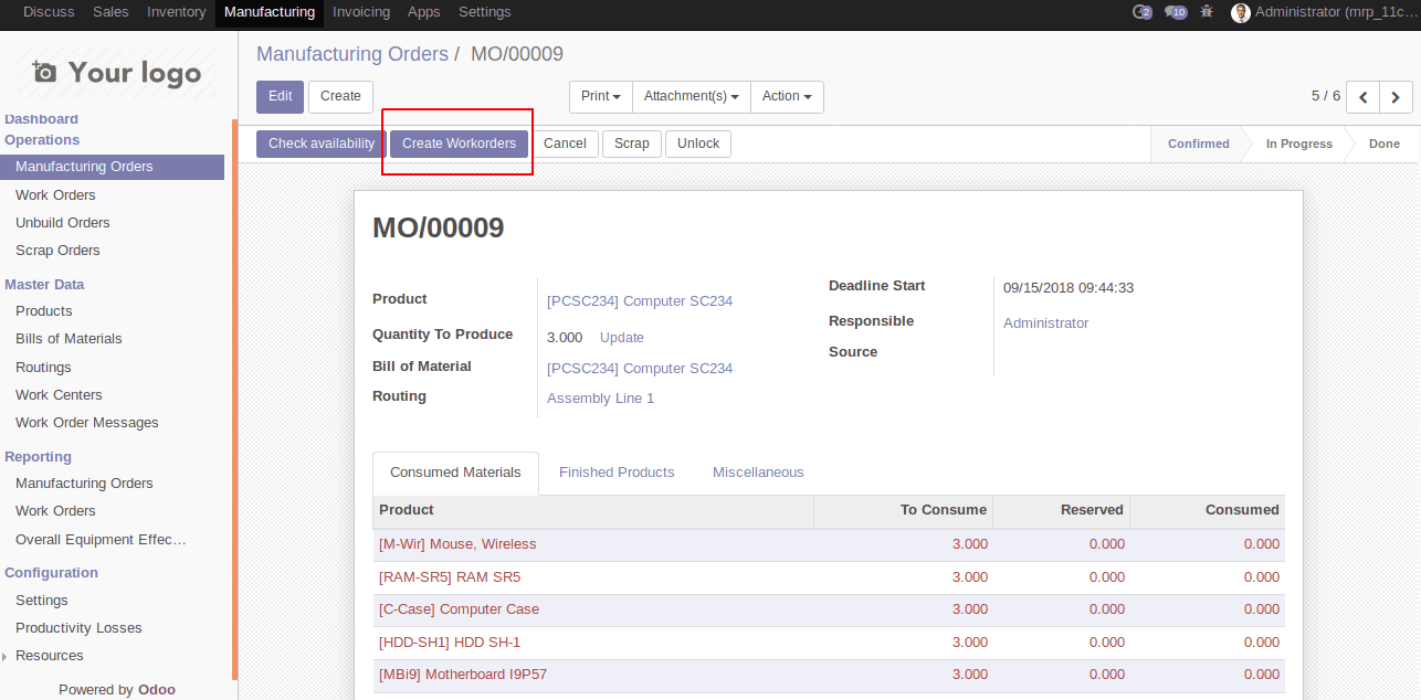 work-order-messages-in-odoo-mrp-7-cybrosys