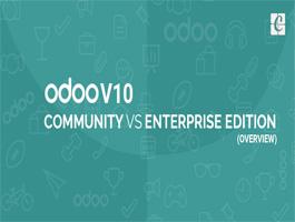 ODOO V10 Community VS Enterprise Edition overview