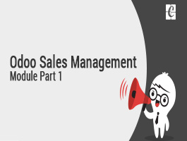 Odoo Sales Management Module Part 1