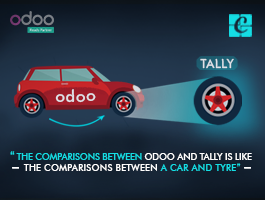 Compare Odoo vs Tally