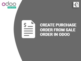 How to create purchase order from sale order in Odoo