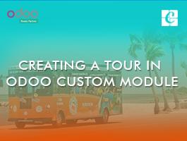 Creating a tour in Odoo custom module