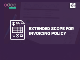 Extended Scope for Invoicing Policy