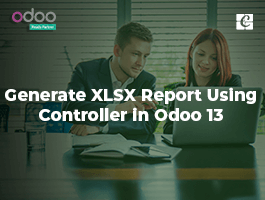 How to Generate XLSX Report Using Controller in Odoo 13