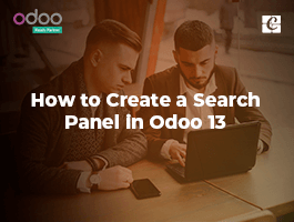 How to Create a Search Panel in Odoo 13