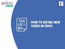 How to define new taxes in Odoo?