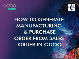 How to Generate Manufacturing & Purchase order from Sales order?