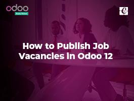 How to Publish Job Vacancies in Odoo 12