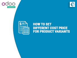 How to Set Different Cost Price For Product Variants
