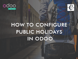 How to Configure Public Holidays in Odoo
