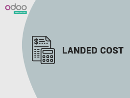 How to configure Landed cost in Odoo?