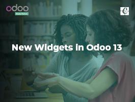 New Widgets in Odoo 13