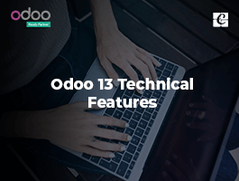 Odoo 13 Technical Features