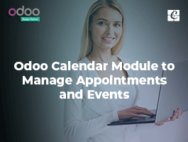 Odoo Calendar Module to Manage Appointments and Events