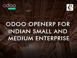 Odoo OpenERP for Indian Small and Medium Enterprise(SME