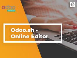 Odoo.sh - Online Editor