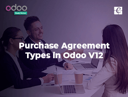 Purchase Agreement Types in Odoo V12