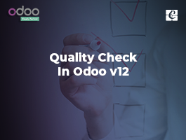 Quality Check in Odoo V12