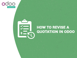 How to revise a quotation in odoo